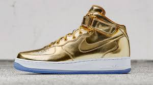 nike air force office london. Gold Nike Air Force 1 Mid Office London