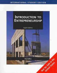 Introduction To Entrepreneurship Introduction To Entrepreneurship Donald F Kuratko