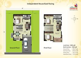 sq feet house plans india modern plan in indian duplex chennai 675 sq feet 810