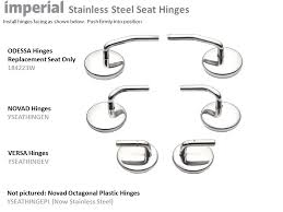 imperial toilet seats seat hinges