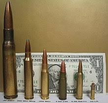 Rifle Caliber Chart Caliber Wikipedia