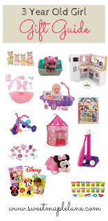 3 year old girl gift guide from Sweet Maple Lane Year Old Girl Gift Guide -
