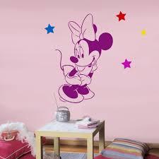 Stencil muro decorare e facile : Disney minnie mouse stencil riutilizzabili per bambini in