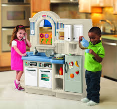 Little Tikes Outdoor Kitchen Amazoncom Little Tikes Inside Outside Cook N Grill Kitchen Toys