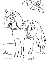 Horse Coloring Pages Free Coloring Pages 27 Free Printable
