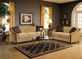 Living Room Sofa And Loveseat Sets Bella Coffee Beige Fabric Living Room Sofa Loveseat Set