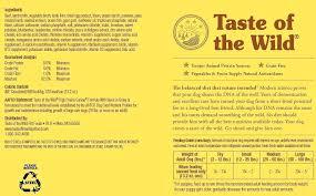 Taste Of The Wild Dog Food Greyer Co