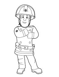 Coloriage Sam Le Pompier Les Beaux Dessins De Dessin Anim