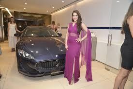 Hotel Rashmi Rashmi Nigam At Sukhbir Baggas Petal Maserati Showroom Launch At