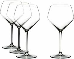 riedel extreme crystal oaked chardonnay wine glass set of 4 glasses