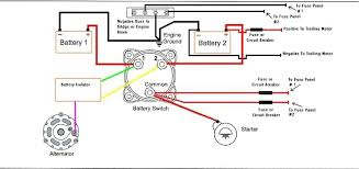 rv house battery wiring diagram rv wiring diagrams how to wire a boat switch panel at Marine Battery Wiring Diagram