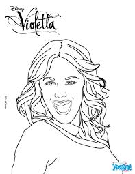 Coloriages Violetta Coloriages Coloriage Imprimer Gratuit Portrait