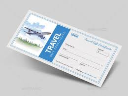 travel voucher template free 12 travel gift certificate templates free sample example