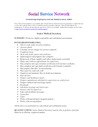 Resume Examples Job Descriptions