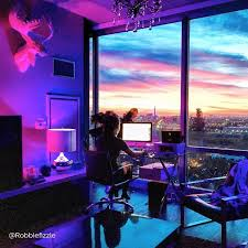 hue lighting ideas. Set Your Home Lighting To Match The Sunset With Colorful, Connected Of Philips Hue. Source By Philipslightus I Do Not Take Credit For Im. Hue Ideas