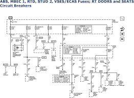 Automotive Wiring Diagrams 2001 Tahoe Chevy Tahoe Factory Wiring Diagram