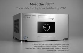 home theater pc case. steiger dynamics leet htpc - cool case for +gaming system. home theater pc