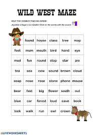 Access free resources and start practicing with your child through phonics. Ou Ow Words Worksheet