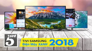 Top 10 tivi Samsung bán chạy nhất Điện máy XANH năm 2018
