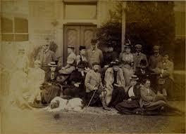 House Party at Lindertis, Kirriemuir, Scotland September 1892 | Artware  Fine Art