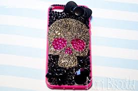 cute and simple diy fl skull phone case free tutorial with pictures on how to