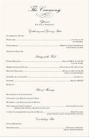 program template for wedding sample wedding program template 20 20 inside entire with azizpjax info