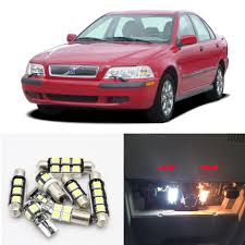 2001 Volvo S40 Service Light For 2000 2001 2002 2003 Volvo S40 Canbus White Car Led Light Bulbs Interior Map Dome Trunk License Palte Light Package Kit