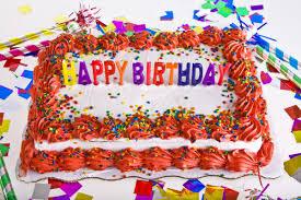 happy birthday colorful happy birthday cake