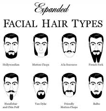 Mustache Styles Chart Facial Hair Styles Chart Facial Hairstyles