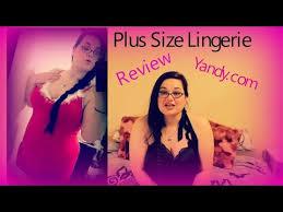 Yandy Size Chart Plus Size Lingerie Review Yandy Dot Com Youtube
