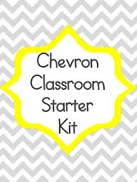 Alphabet Numbers Chart Chevron Classroom Starter Kit Alphabet Numbers Rules Behavior Chart Posters