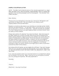 Cover Letter Design Polite Sample Cover Letter For Volunteer