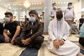 صور.. صلاة عيد الأضحى في مساجد أربيل