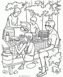 these free printable cing coloring pages are fun for kidore