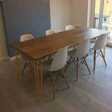 Hairpin dining table Eames Fletcher And Mils Hairpin Dining Table Fletcher And Mils