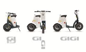 specs sheet of the gigi electric scooter