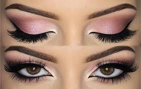 pink y this makeup look