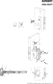 harmony h series lock users manual fcc part assa abloy inc 06 30 09 copyright acirccopy 2009 sargent manufacturing company an assa abloy group company all rights reserved