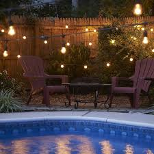 How To Hang String Lights On Patio Outdoor String Lighting Ideas Ylighting Ideas