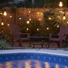 Patio Accent Lights Outdoor String Lighting Ideas Ylighting Ideas