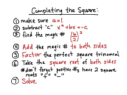 complete the square math algebra completing the square math algebra quadratic equations completing the square complete the square calculator mathpapa