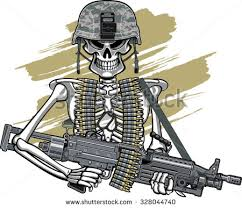 Image result for soldier wearing belts of ammo