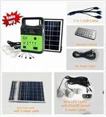 Amazoncom  LISOPO Mutifunctional LED Lamp Kits  12 LED Solar Solar Powered Lighting Kits