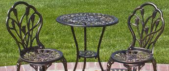 iron patio furniture wrought iron patio furniture o