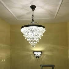 enchanting drum light chandelier black antique bronze finish shade crystal and mini marvellous