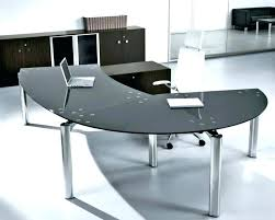 large glass office desk. Glass Top Office Desk White Large Size Of . S