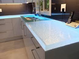 glass kitchen countertops