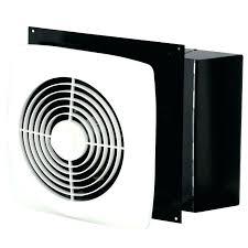 through the wall fan flex duct