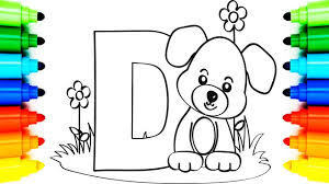 1200x1489 drawing kawaii cute s and characters 1 1280x720 how to draw alphabet coloring book letter d dog animation