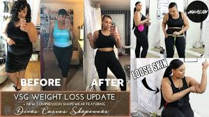 Vsg Weight Loss Chart 11 Month Vsg Weight Loss Update Compression Shapewear Try On Haul